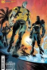 DC Comics Blue & Gold #2 Cvr B Jason Howard The Suicide Squad Movie Card Stock Var