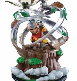 Quantum Mechanix Avatar The Last Airbender Aang Q-Fig Max Elite Diorama