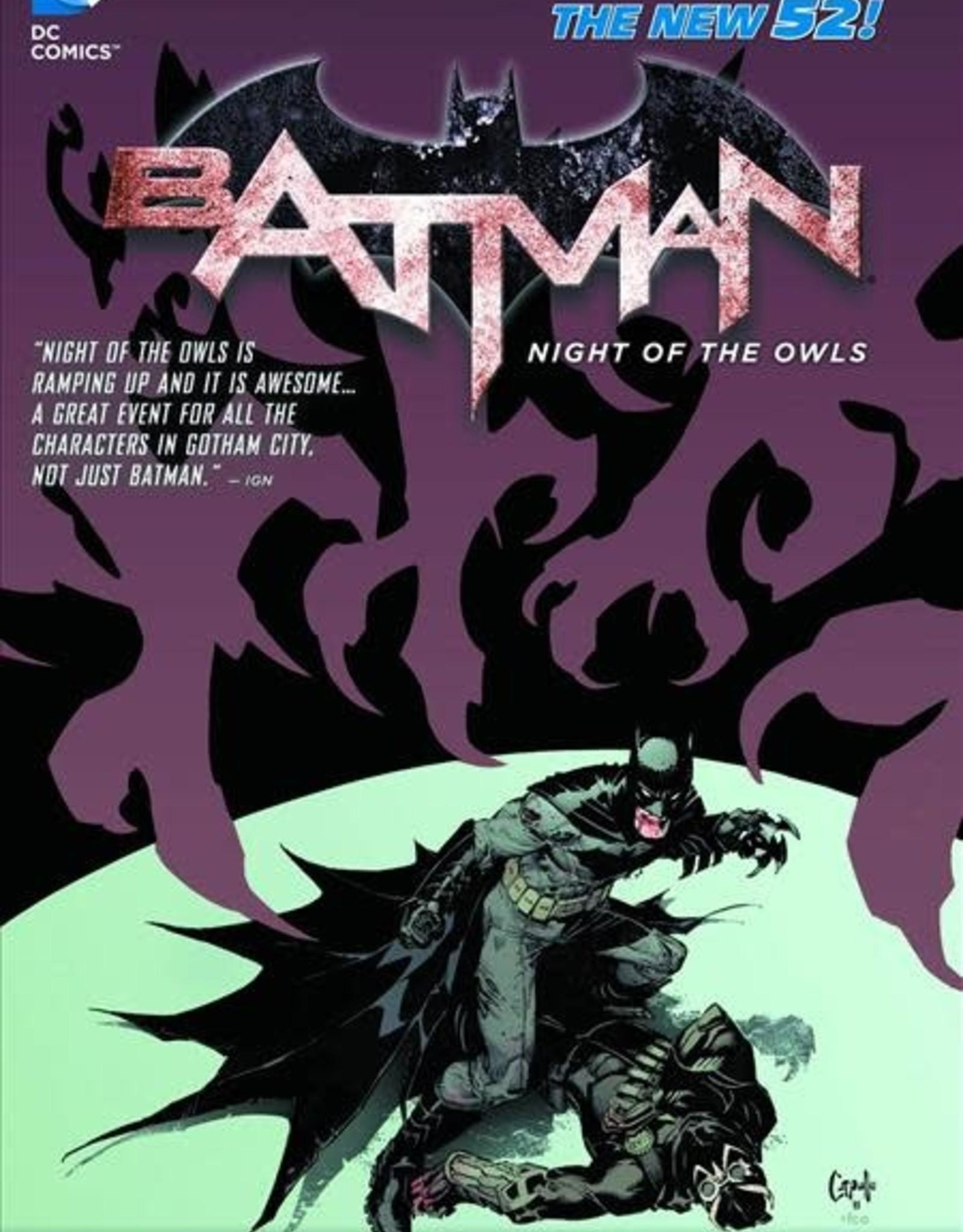 DC Comics Batman Night of the Owls TP (N52)