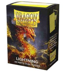 Arcane Tinmen Dragon Shield Dual Sleeves (100) Matte Lightning
