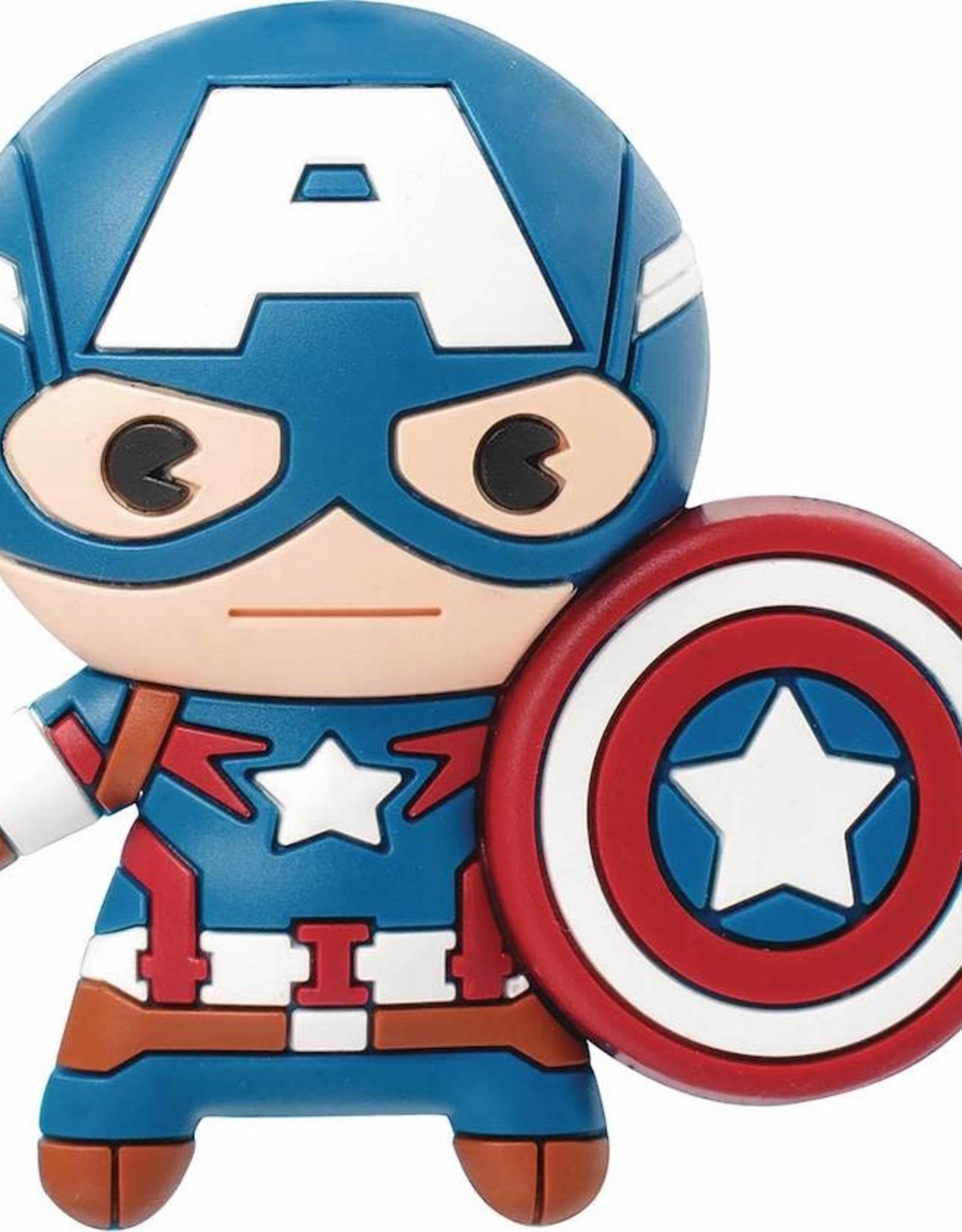 Monogram Products Captain America 3D Foam Magnet