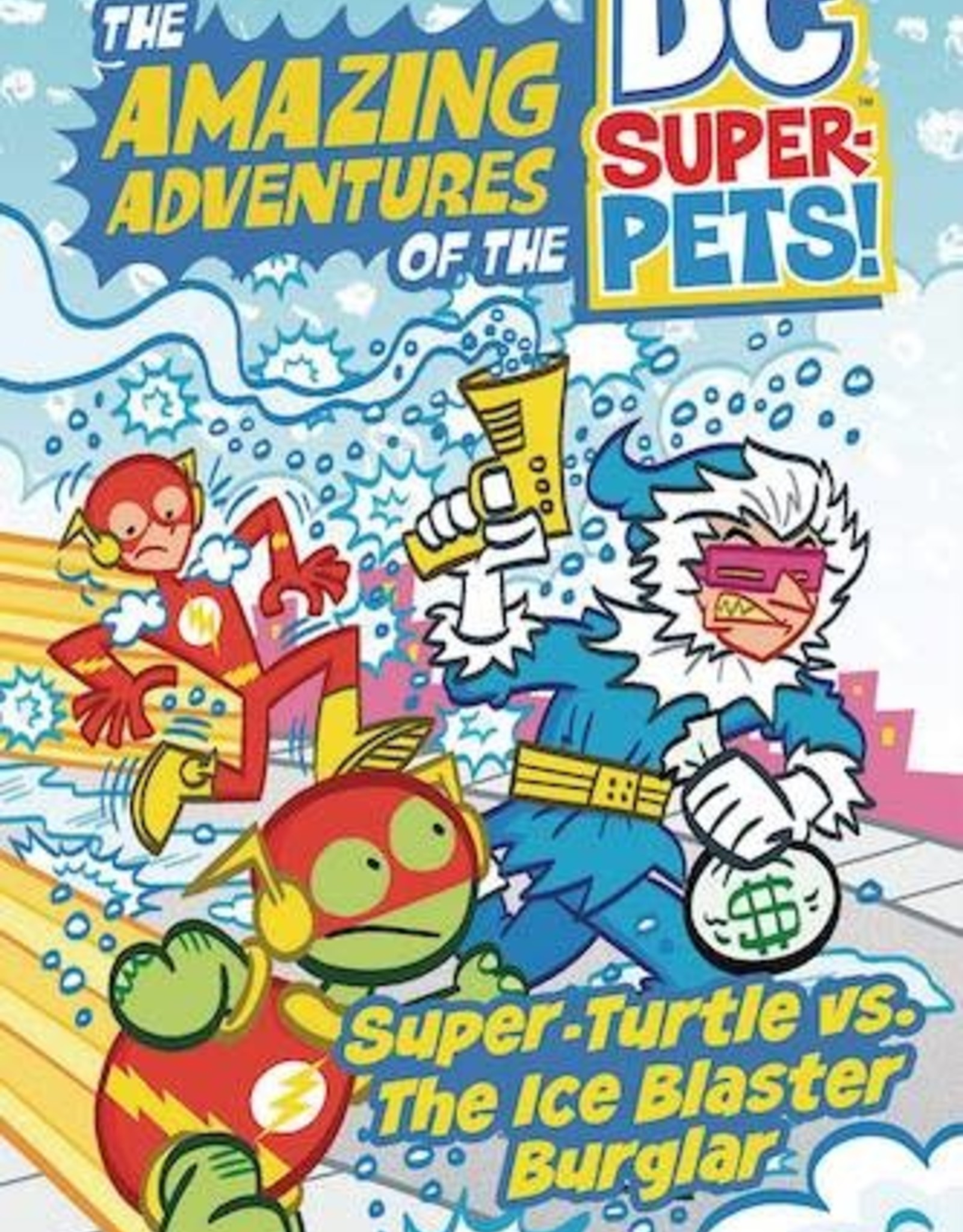 Capstone - Picture Window Book DC Super Pets Whatzit Vs Ice Blaster Burglar