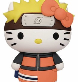 Monogram Products Naruto X Hello Kitty 3D Foam Magnet