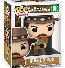 Funko POP TV Parks & Rec Hunter Ron Vin Fig