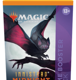 Wizards of the Coast Magic the Gathering: Innistrad Midnight Hunt Theme Booster Black