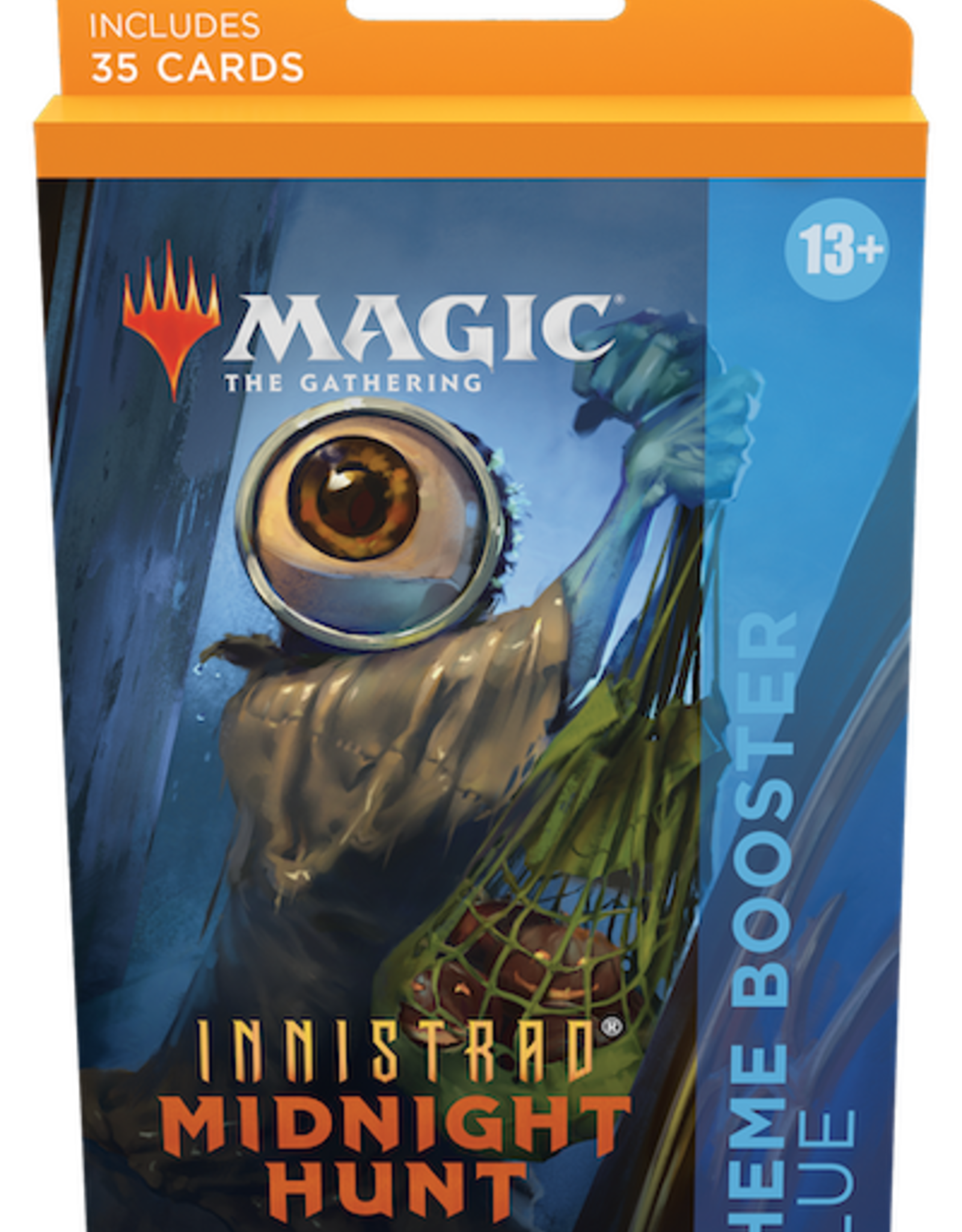 Wizards of the Coast Magic the Gathering: Innistrad Midnight Hunt Theme Booster Blue