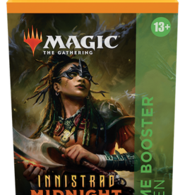 Wizards of the Coast Magic the Gathering: Innistrad Midnight Hunt Theme Booster Green