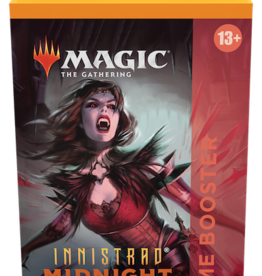 Wizards of the Coast Magic the Gathering: Innistrad Midnight Hunt Theme Booster Red