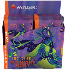 Wizards of the Coast Magic the Gathering:  Innistrad Midnight Hunt Collector Booster Box