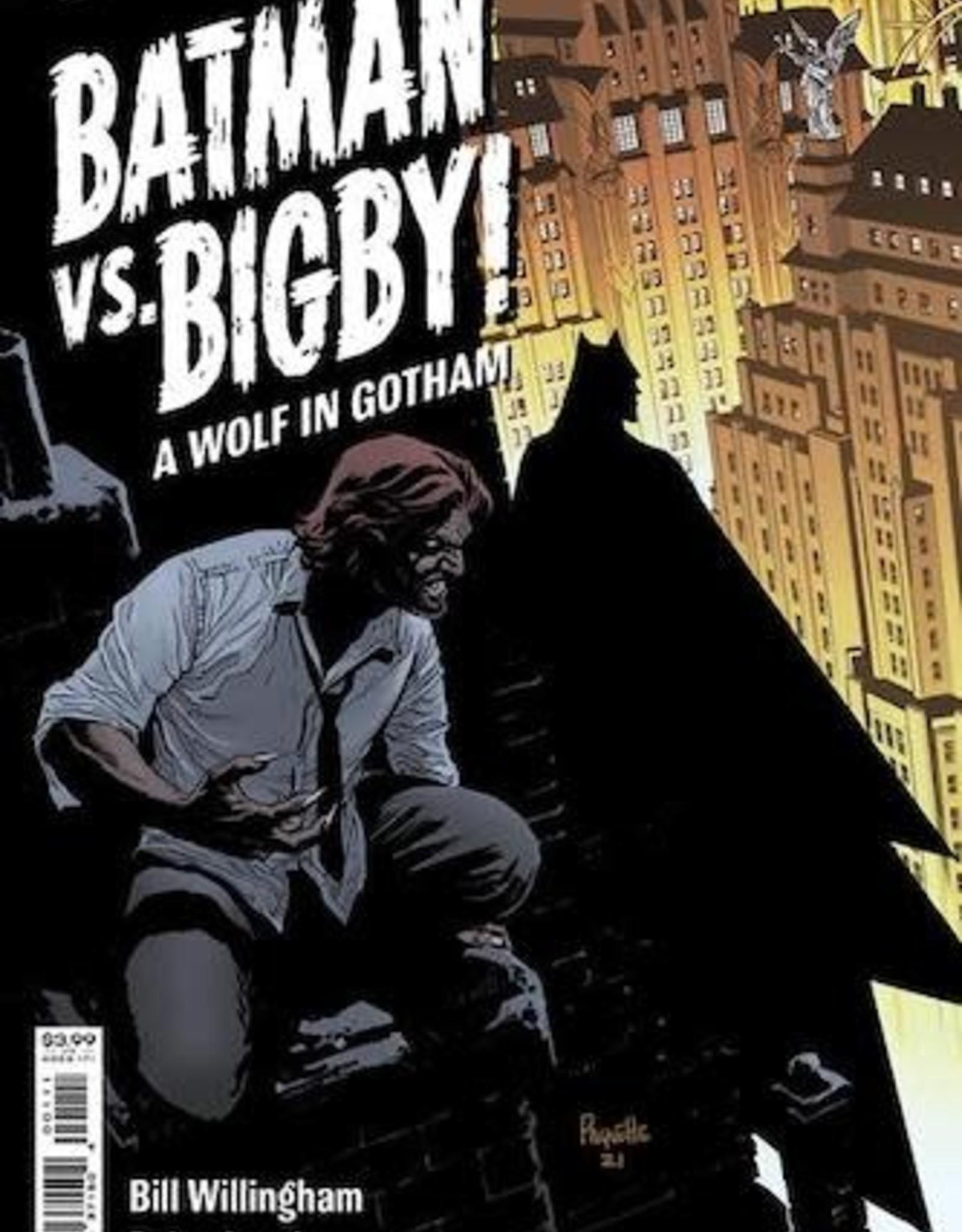DC Comics Batman Vs Bigby A Wolf In Gotham #1 Cvr A Yanick Paquette
