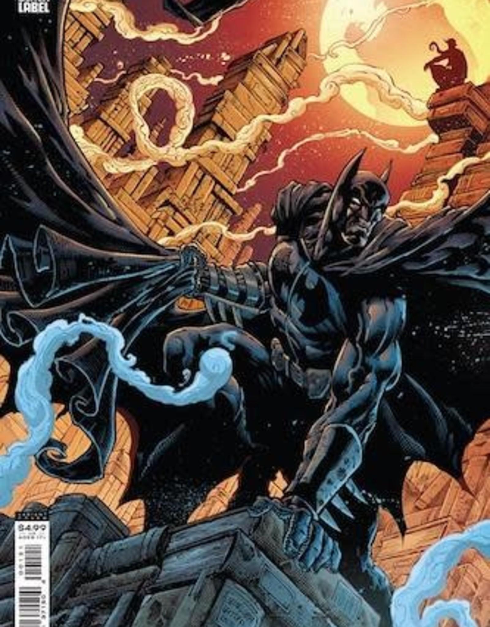 DC Comics Batman Vs Bigby A Wolf In Gotham #1 Cvr B Brian Level & Jay Leisten Card Stock Var