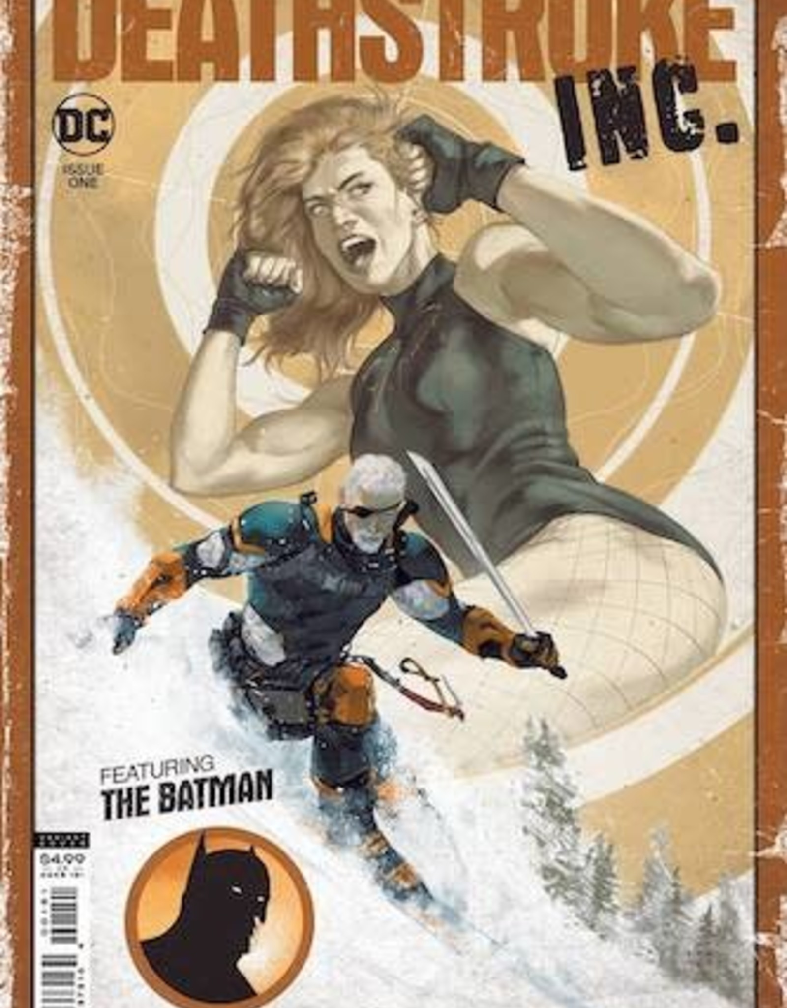 DC Comics Deathstroke Inc #1 Cvr E Inc 1:25 Dima Ivano Card Stock Var
