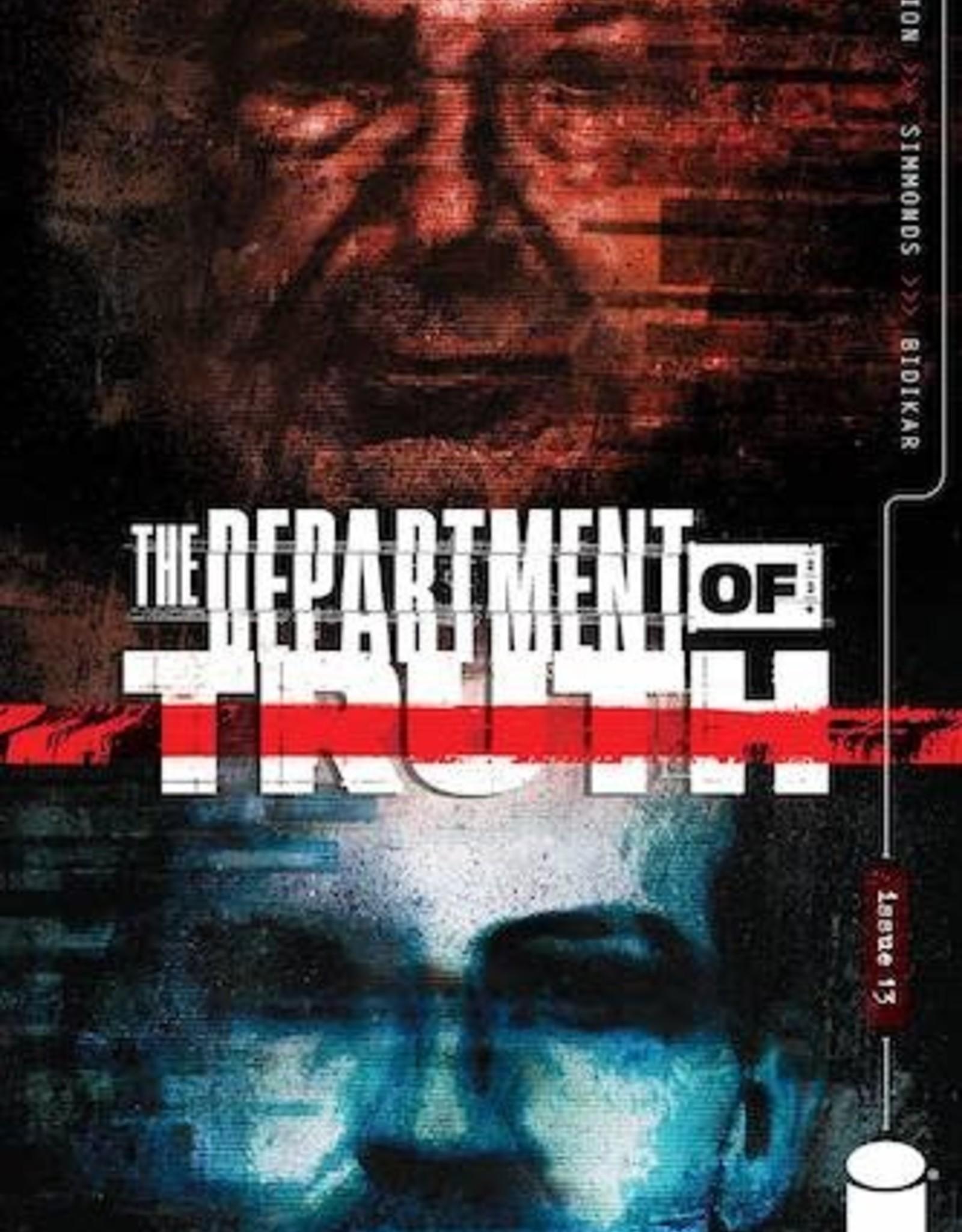 Image Comics Department Of Truth #13 Cvr A Simmonds