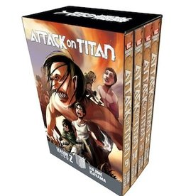 Kodansha Comics Attack on Titan Season 2  Manga Box Set