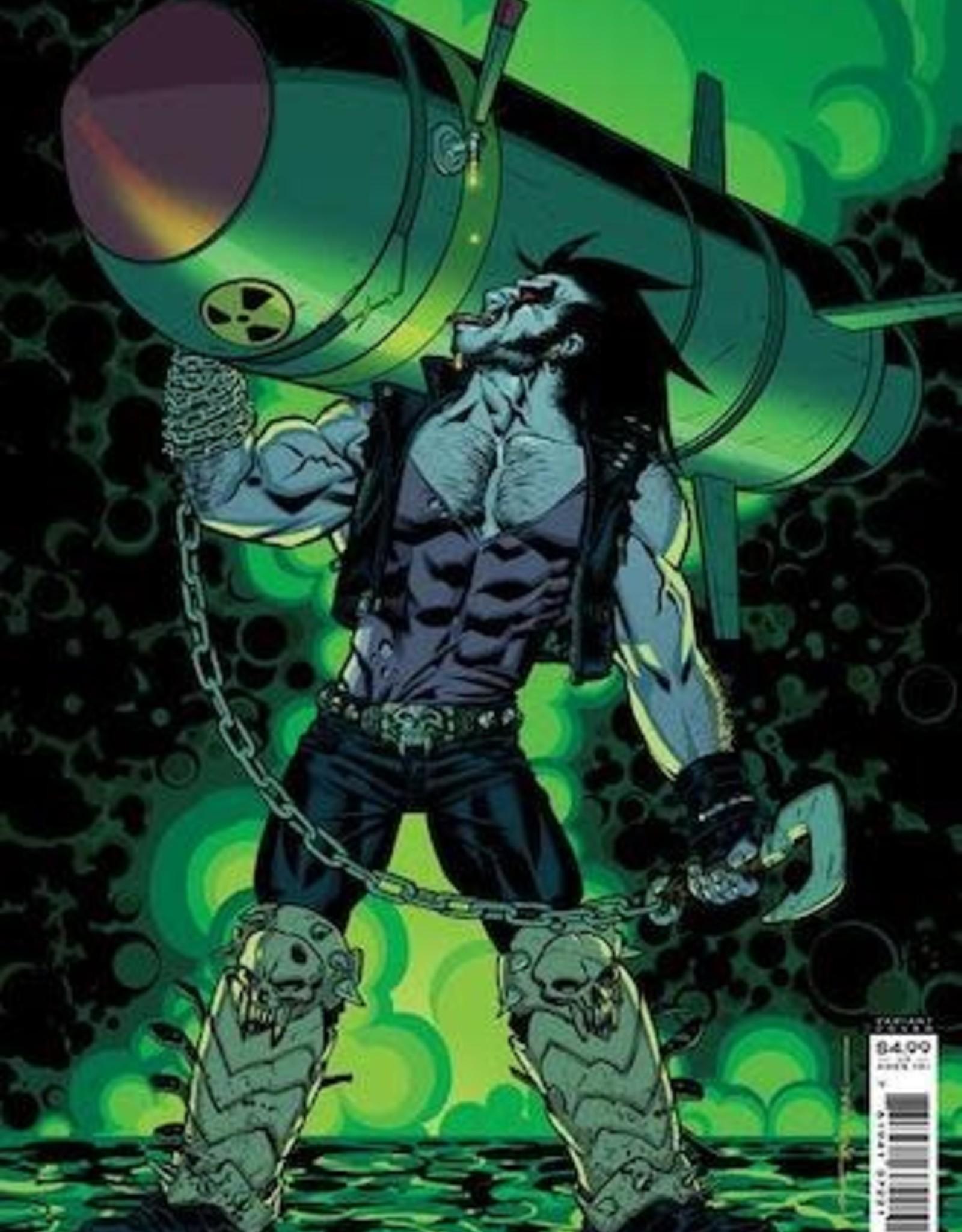 DC Comics Crush & Lobo #5 Cvr B Brian Stelfreeze Card Stock Var