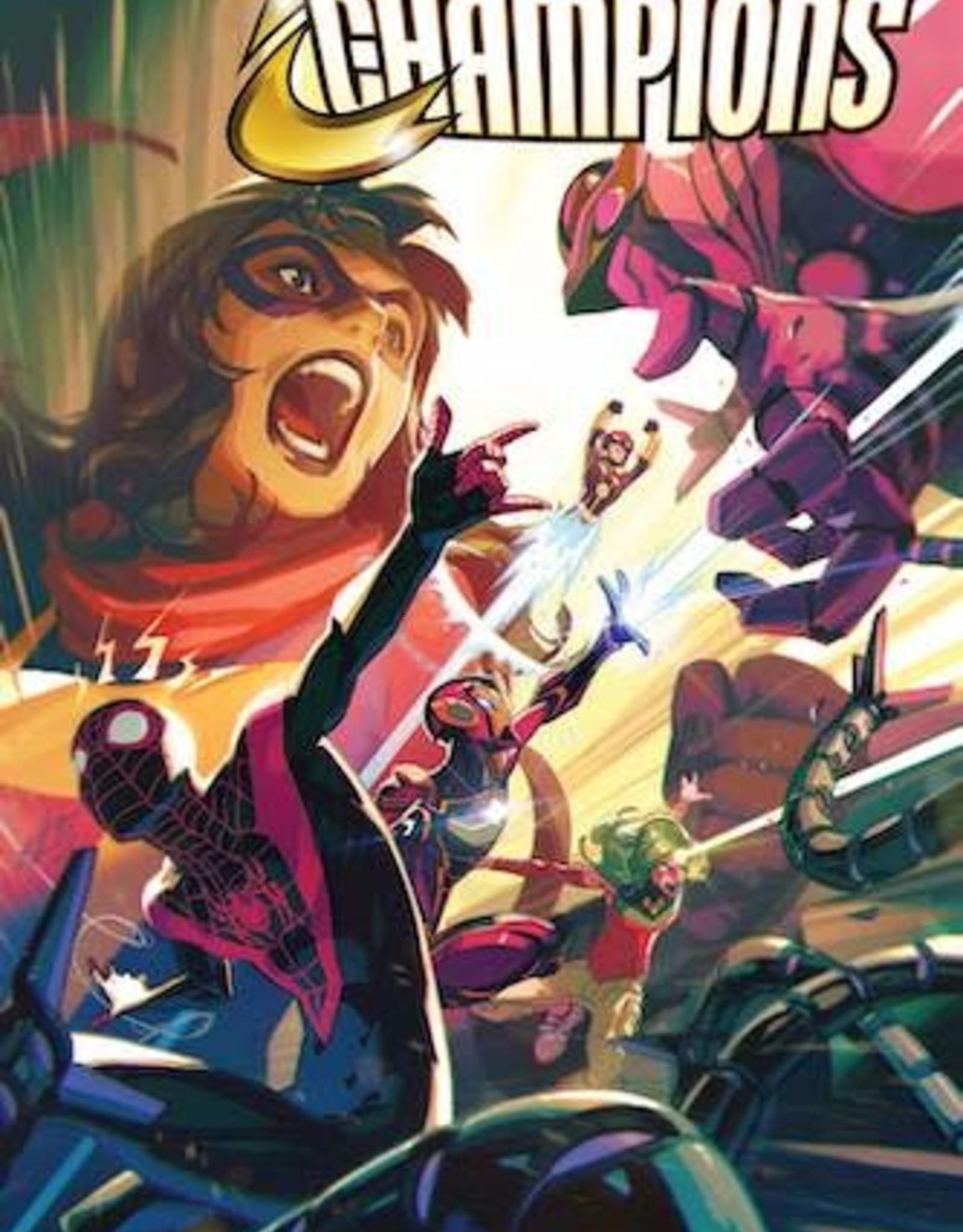 Marvel Comics Champions #10