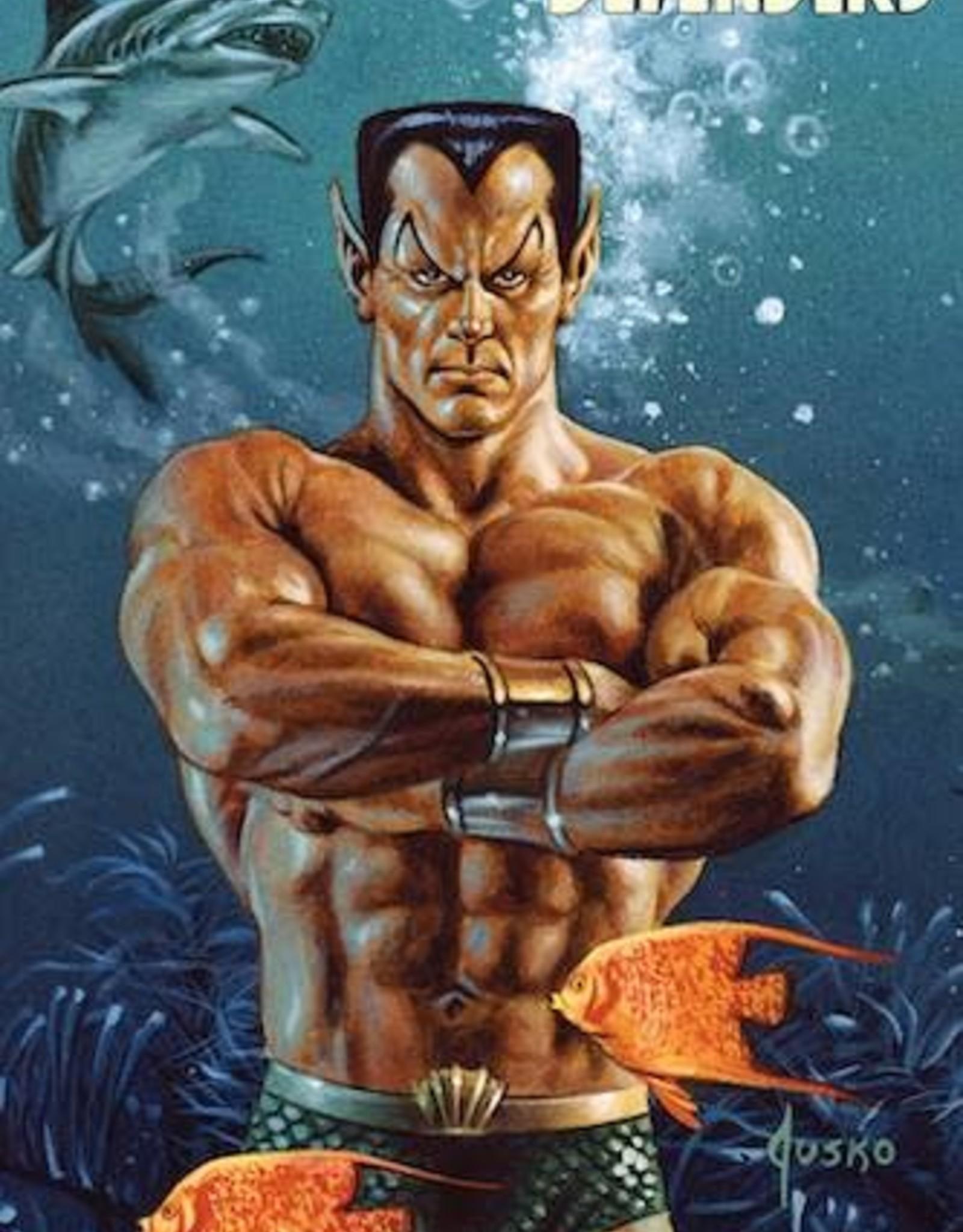 Marvel Comics Defenders #3 Jusko Marvel Masterpieces Variant