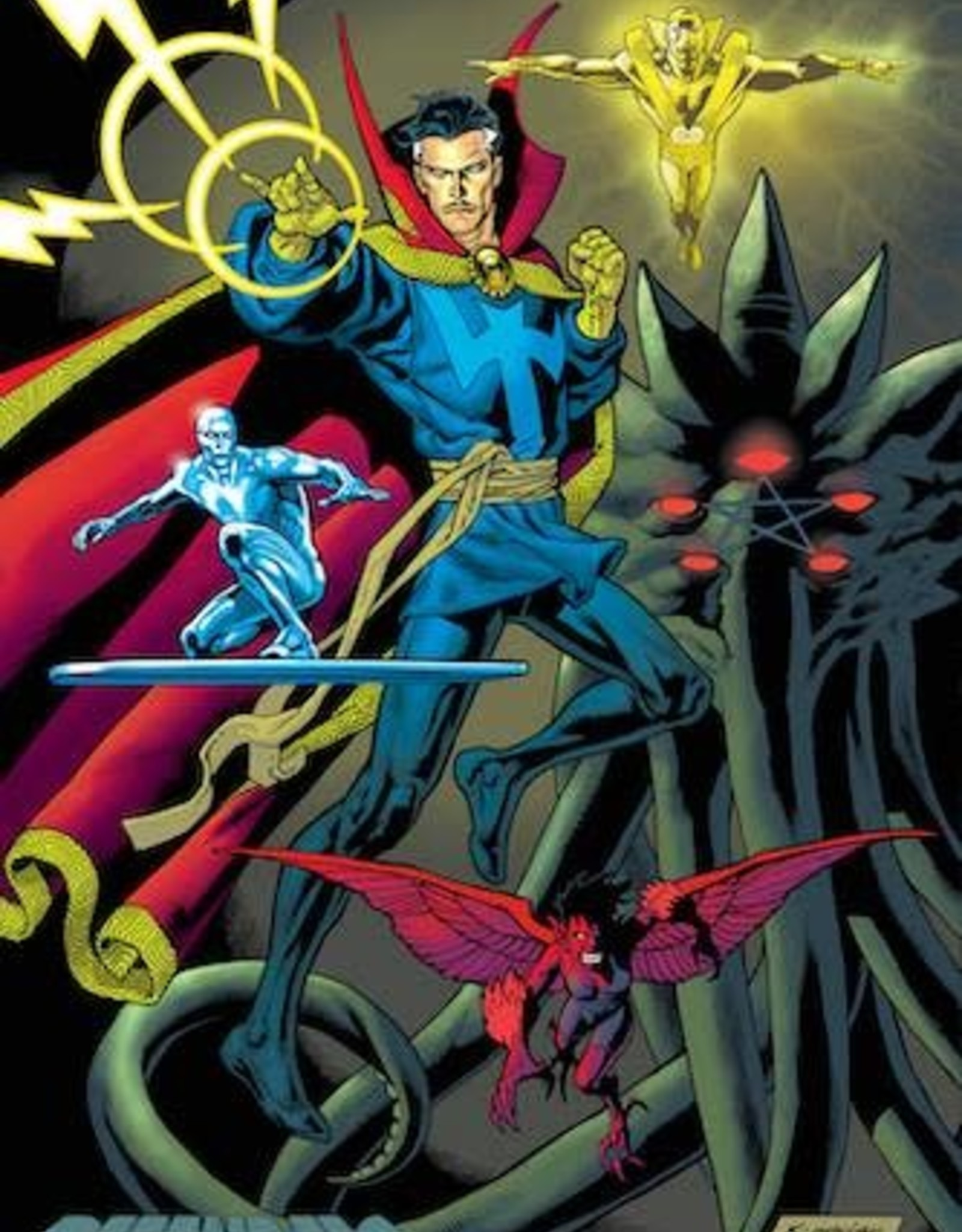 Marvel Comics Defenders #3 Nowlan Variant