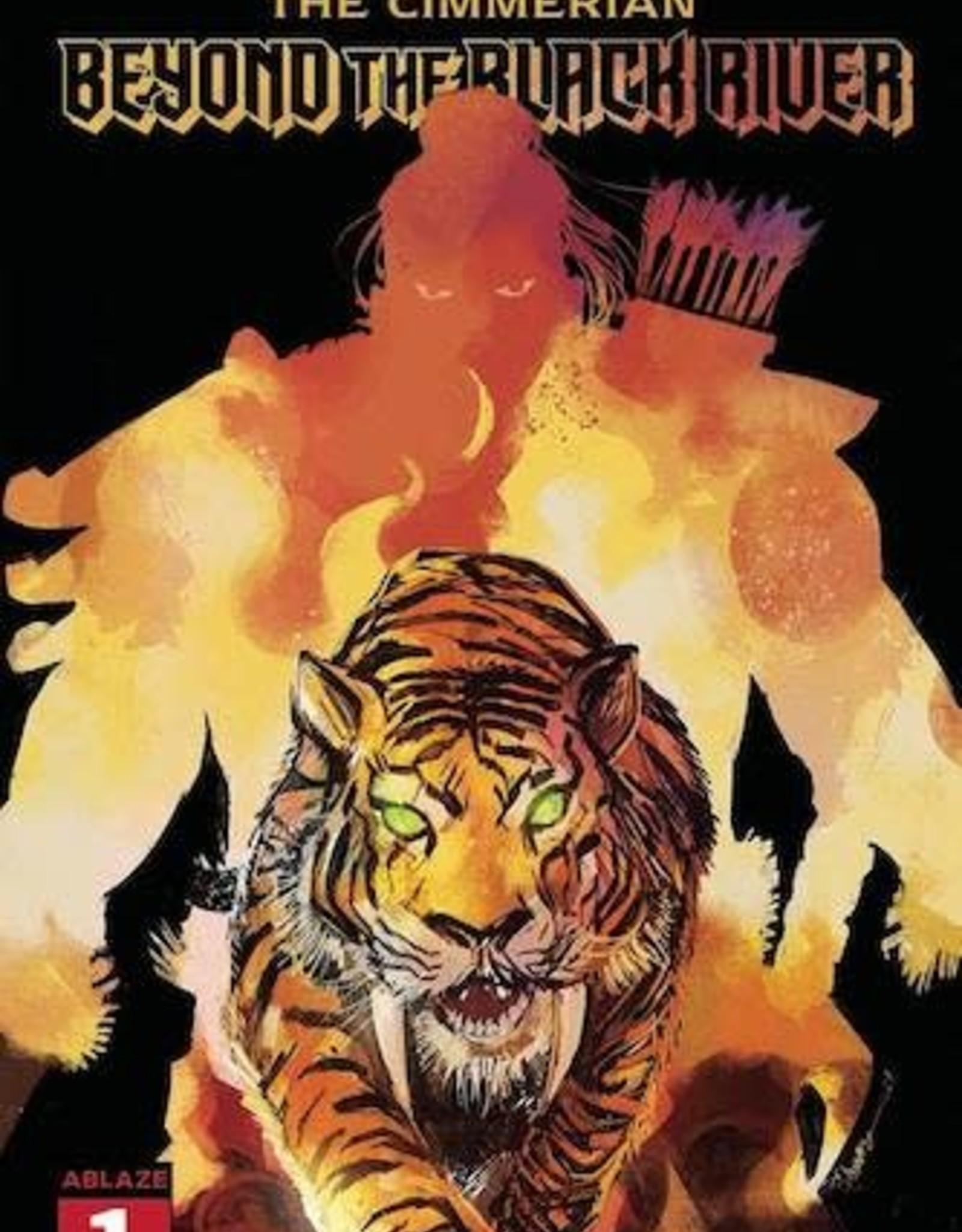 Ablaze Cimmerian Beyond The Black River #1 Cvr C Tamura