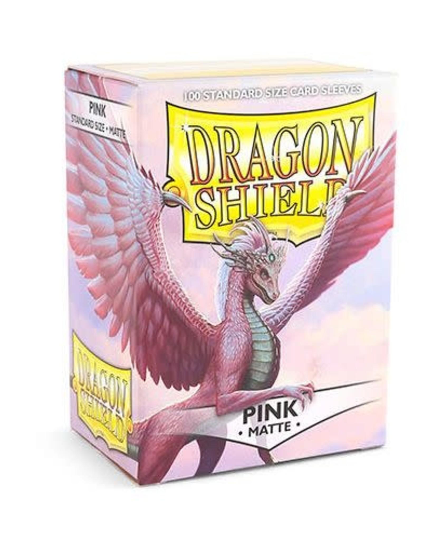 Arcane Tinmen Dragon Shield (100) Matte Pink