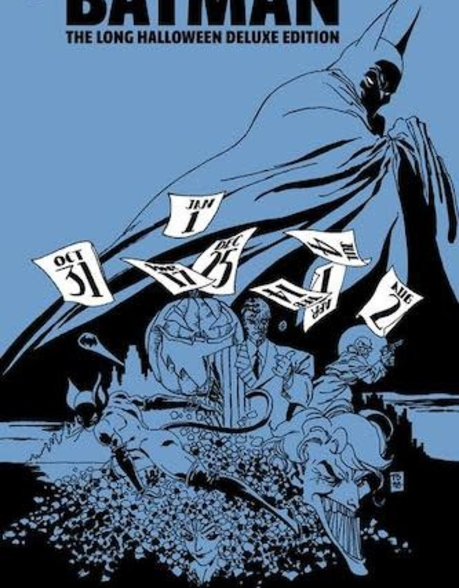 DC Comics Batman The Long Halloween Deluxe Edition HC