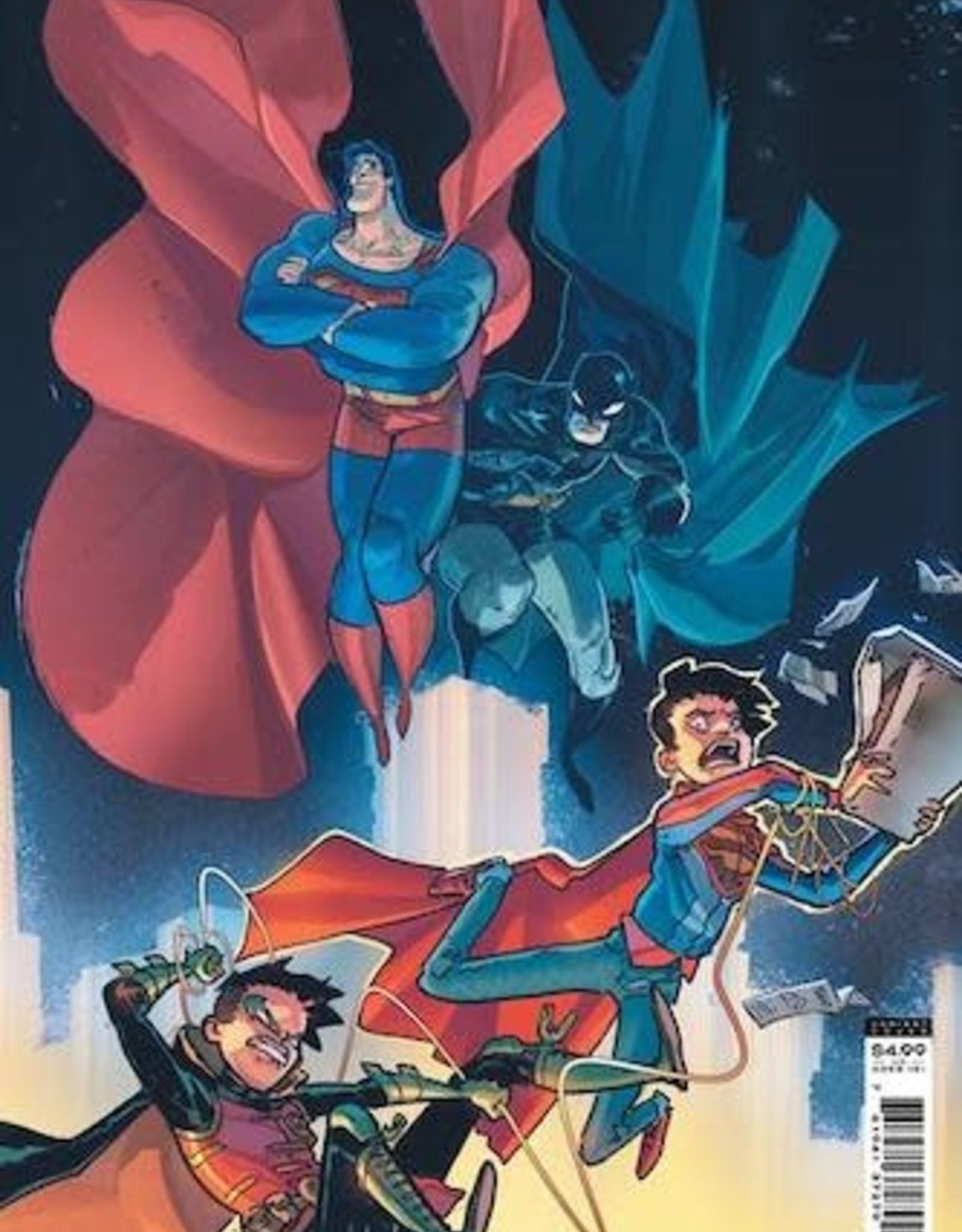 DC Comics Challenge Of The Super Sons #7 Cvr B Riley Rossmo Card Stock Var