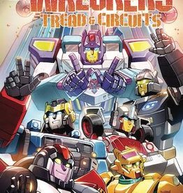 IDW Publishing Transformers Wreckers Tread & Circuits #1 Cvr A Lawr