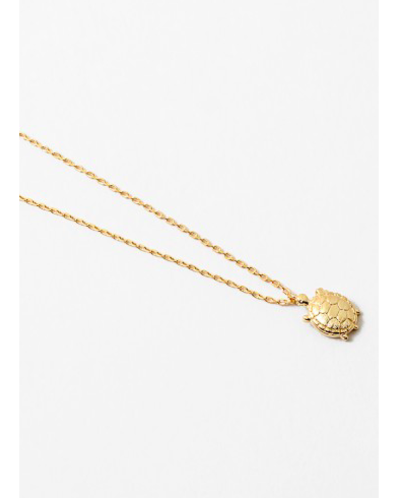 EM & ELLE Turtle Necklace