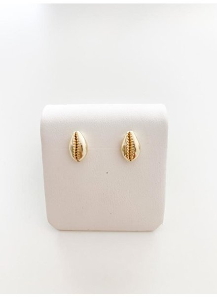 MIsc Cowrie Shell Stud