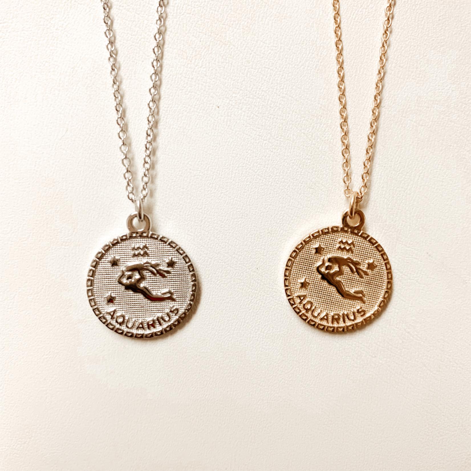 Aquarius In the Stars Necklace