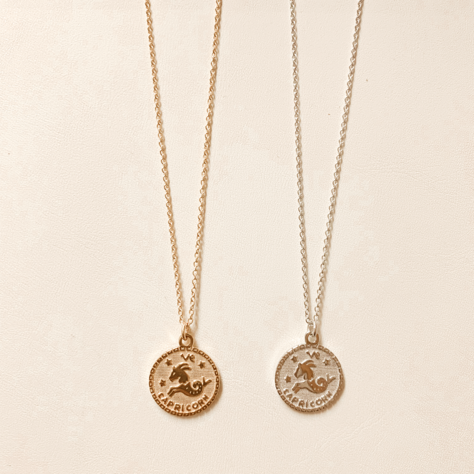 Capricorn In the Stars Necklace