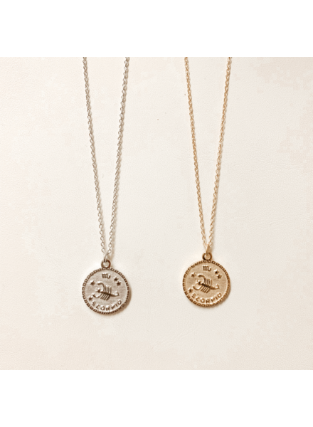 Serendipity Scorpio In the Stars Necklace