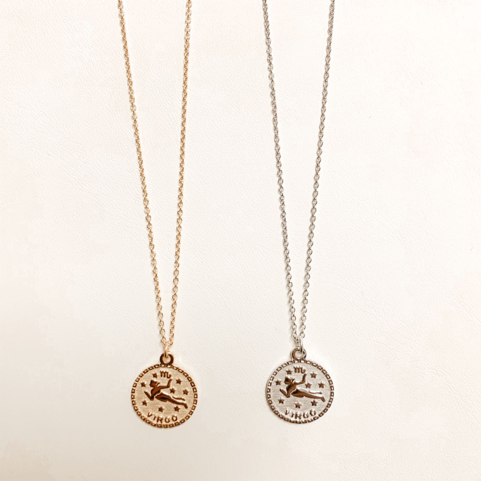 Virgo In the Stars Necklace
