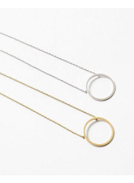 EM & ELLE Circle Necklace