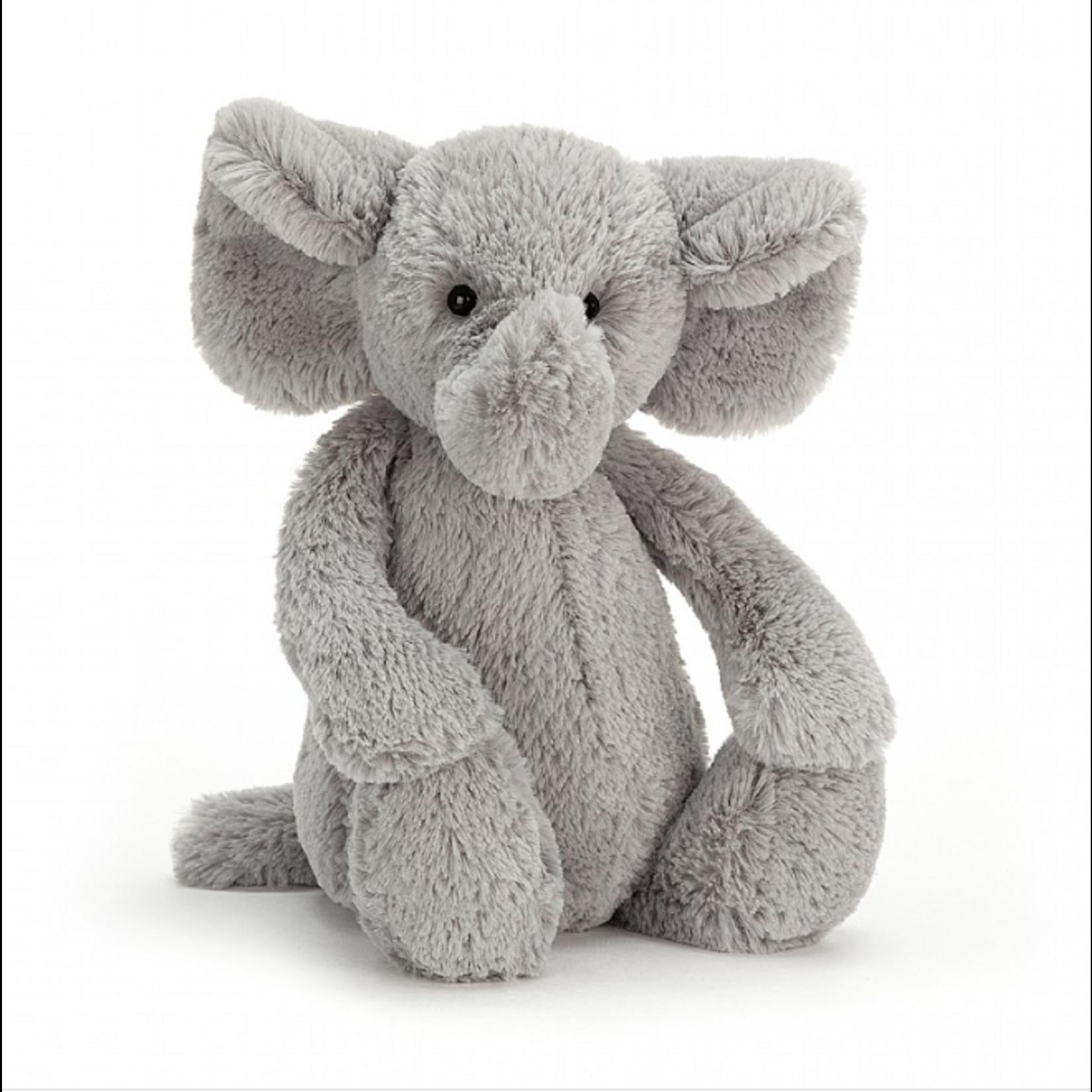 Jellycat Bashful Grey Elephant Medium
