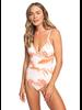 Roxy Tropical Sand One‑Piece Swimsuit