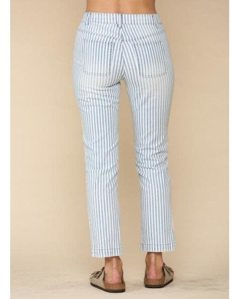 EM & ELLE Mcguire Striped Pants