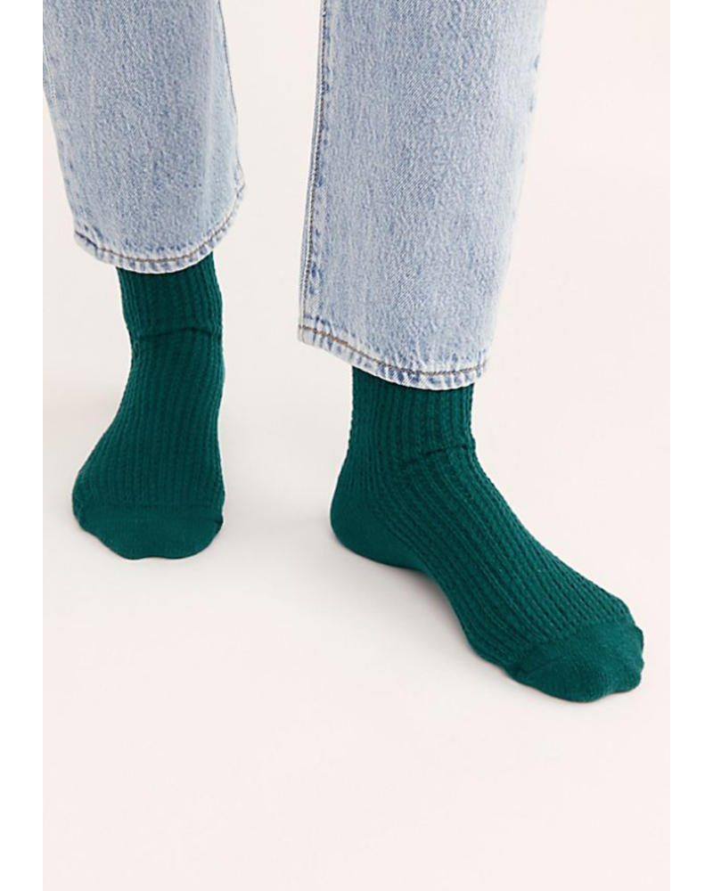 Free People Camilla Open Knit Slouchy Sock