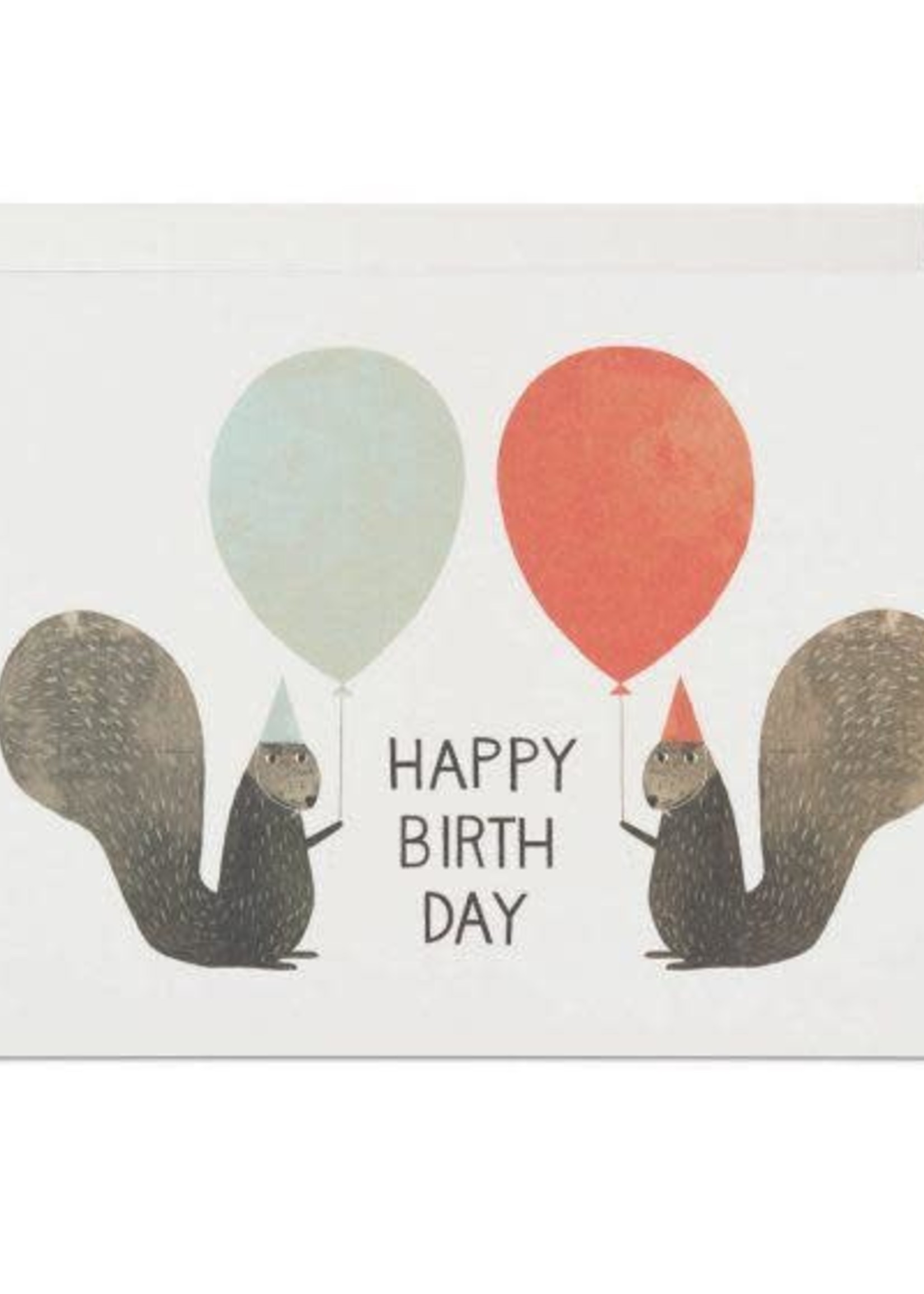 Party Squirrels Birthday Card