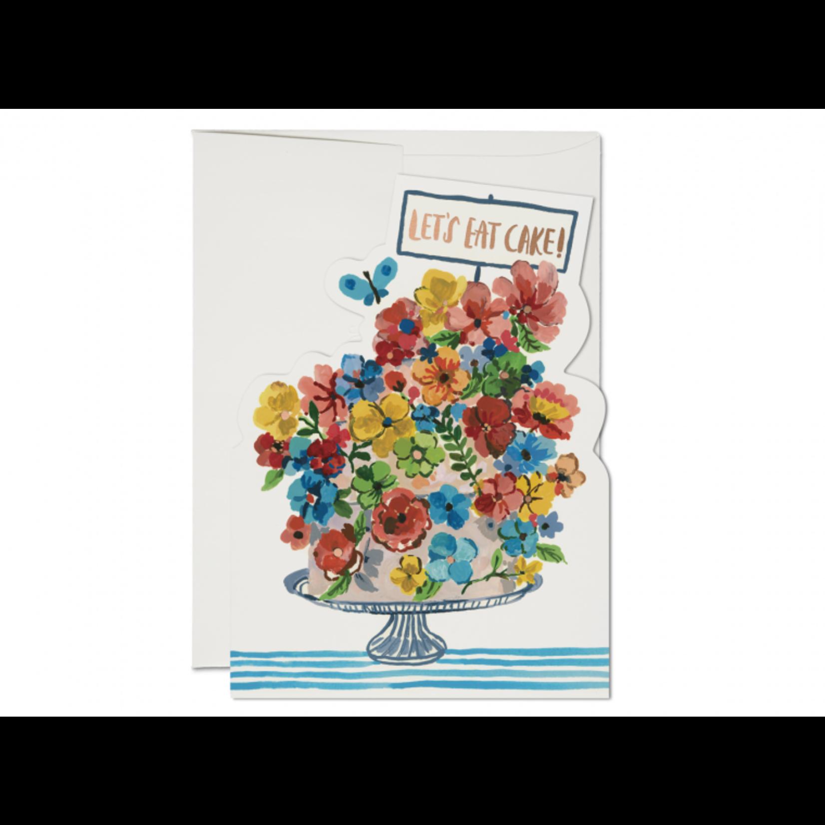 Flower Cake Card