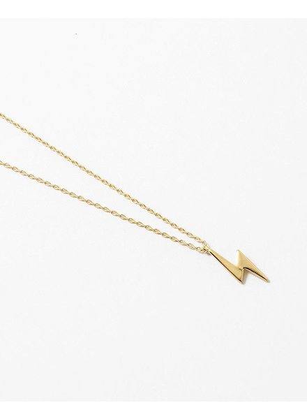 EM & ELLE Lightning Bolt Necklace