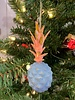 One Hundred 80 Degrees Blue Pineapple Ornament