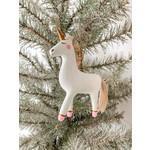 One Hundred 80 Degrees Unicorn Ornament