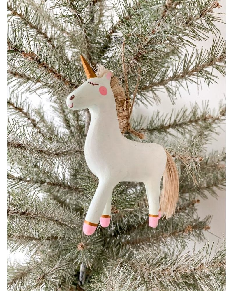 One Hundred 80 Degrees Unicorn Ornament