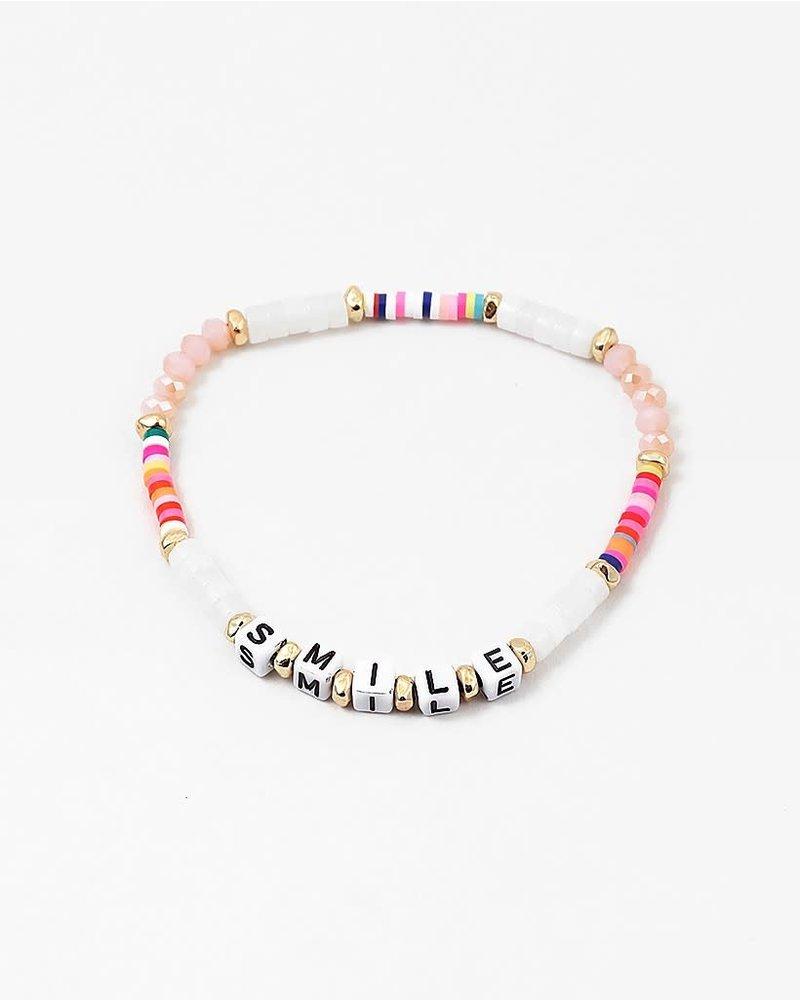 EM & ELLE Neon Smile Bracelet