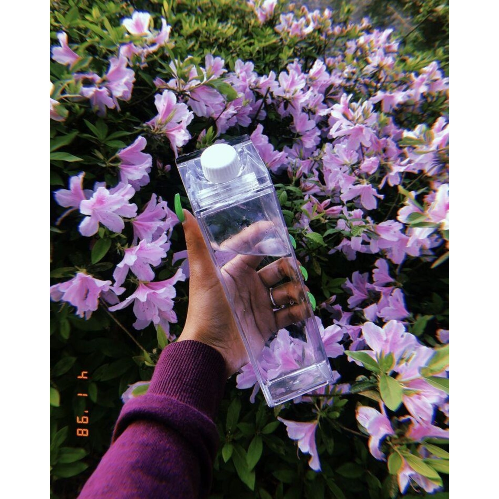 Milk Carton Water Bottle