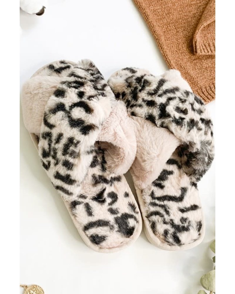 Cross The Line Slippers