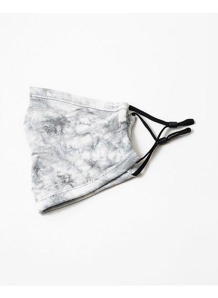EM & ELLE Light Grey Tie Dye Mask