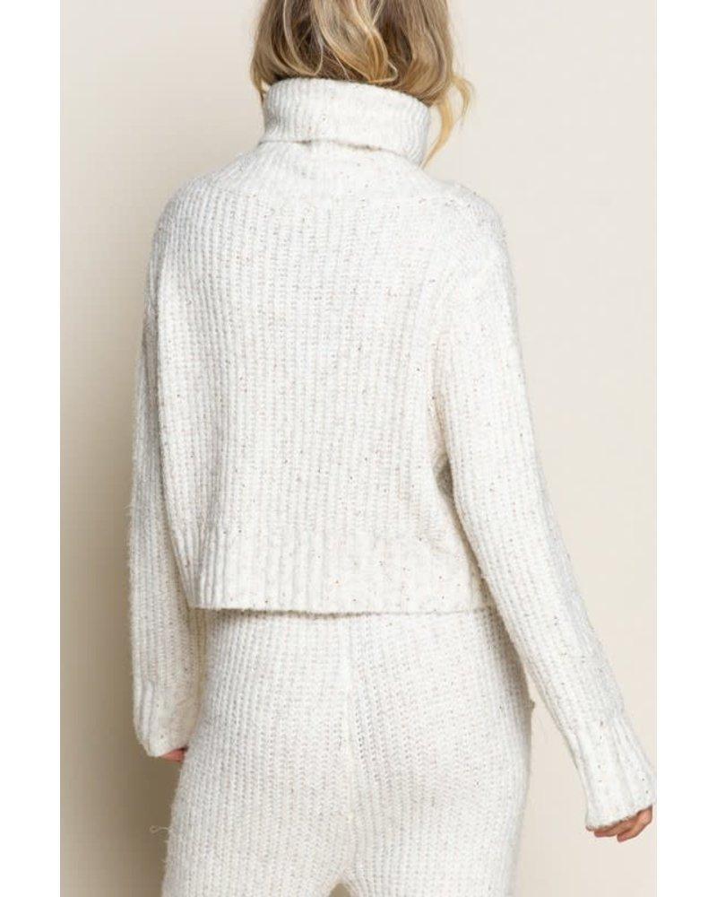 EM & ELLE Lighten Up  Knit Sweater