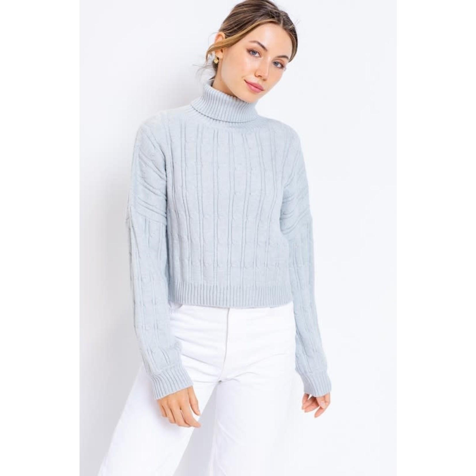 EM & ELLE Callahan Turtleneck Sweater